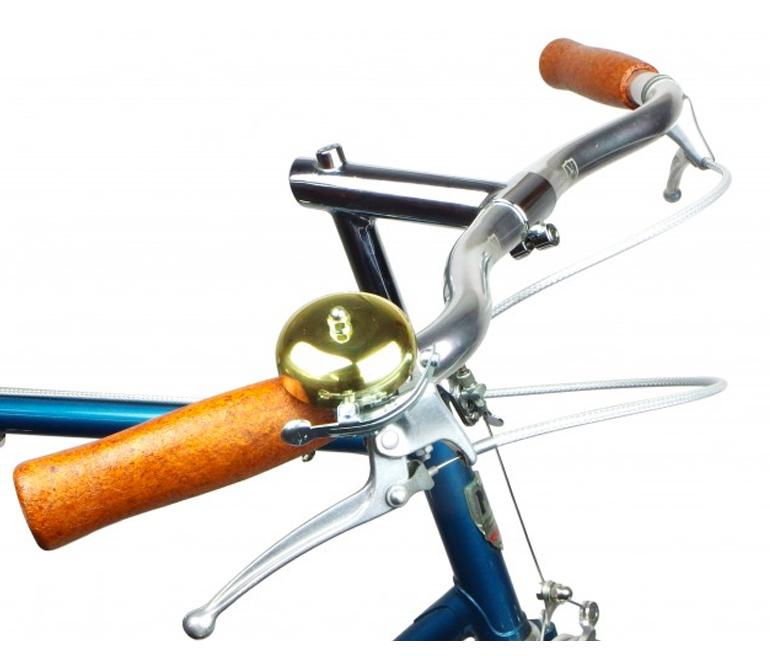 Velo Orange Polished Brass Striker Ping Bell Retro Bicycle Bell