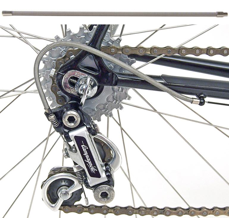 Yokozuna Campagnolo Road Bike Stainless 1.2mm x 2000mm Derailleur Cable F//R set