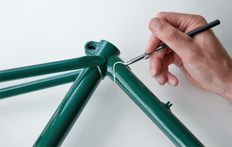 Lug Lining Pen for Bicycle Frame Rebuilds & Restorations Lug Lining ...